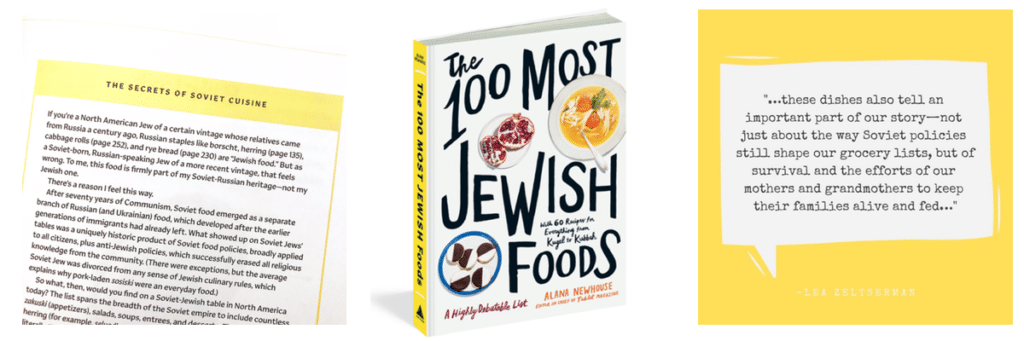 100JewishFood cover collage