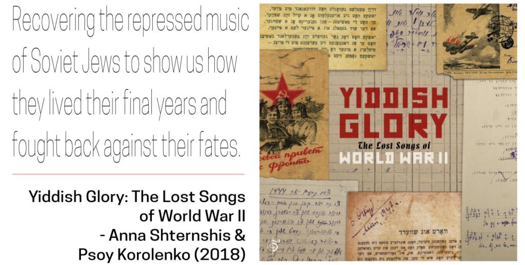 Soviet-Jewish Decade Top Picks - Yiddish Glory album