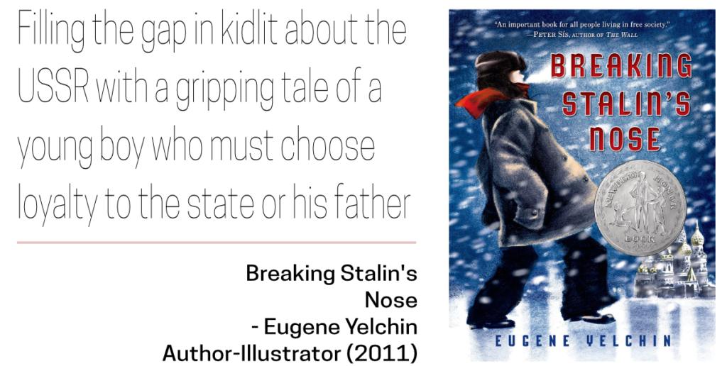 Soviet Jewish Decade Top 10 Breaking Stalin's Nose by Eugene Yelchin