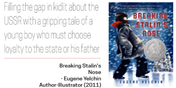 Soviet Jewish Decade Top 10 Breaking Stalin's Nose by Eugene Yelchin
