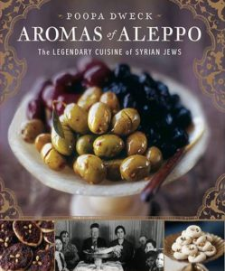 Book cover for Aromas of Aleppo by Poopa Dweck