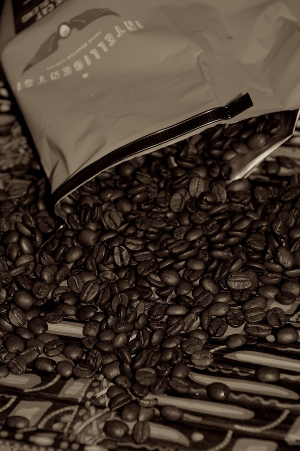 Intelligentsia coffee beans commonly served in Toronto indie coffeeshops