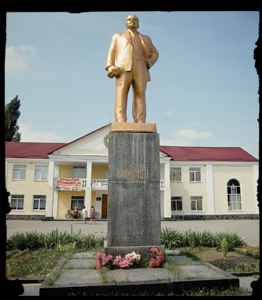 Lenin statues in Russia and Ukraine - in Romanov, Ukraine
