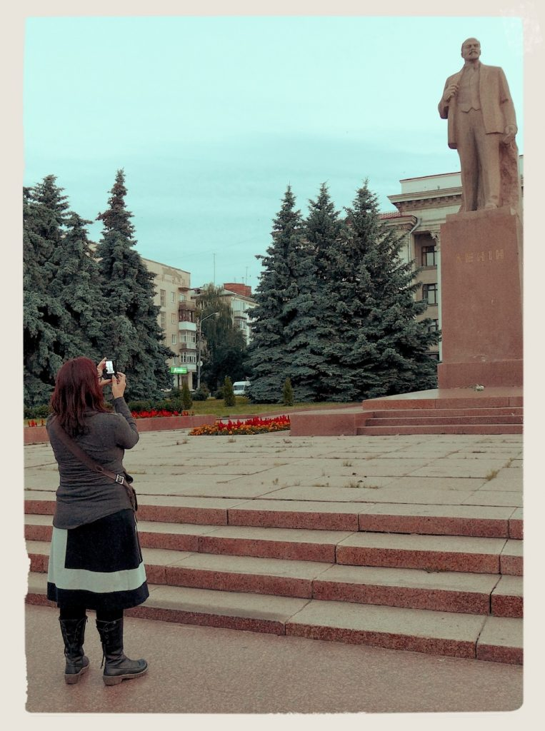 Lenin statues in Russia and Ukraine - in Zhitomir, Ukraine