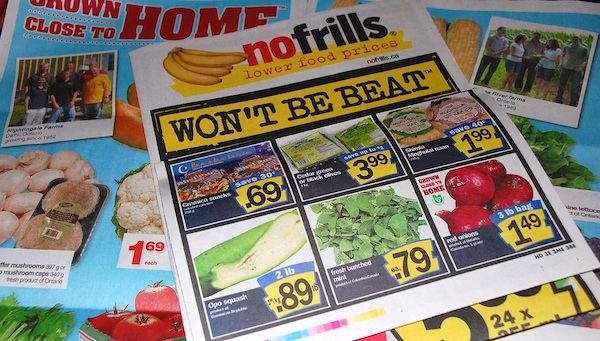 Food and multiculturalism at No Frills in Canada