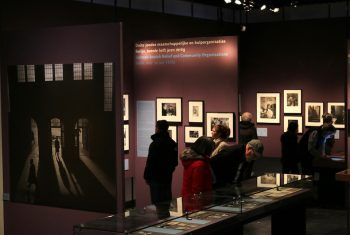 Roman Vishniac Exhibit at Jewish Historical Museum in Amsterdam; photo by the Persian-Dutch Network
