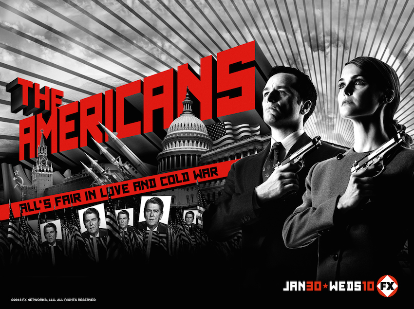 Poster for watching The Americans as a Russian-Jew