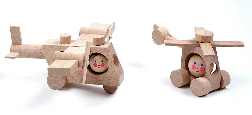 Vyertolyet - or wooden helicopter toy - a word I often forget in English